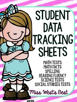 Student Data Tracking Sheets Option #1