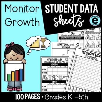 Student Data Tracking Sheets | Data Binder