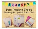 Student Data Tracking Sheets (Digital & Print) by TEKS w/new ELAR TEKS