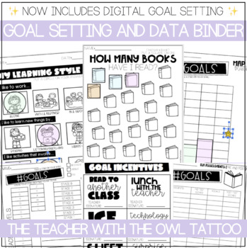 Student Data Tracking and Goal Setting Notebook