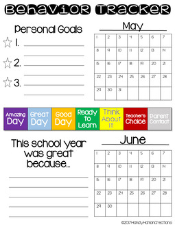 Student Data Tracking and Goal Setting Editable Sheets