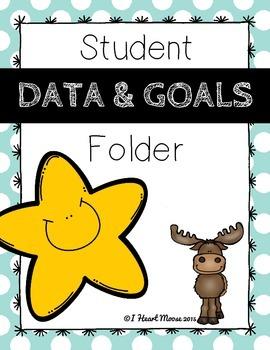 Student Data and Goals Folder
