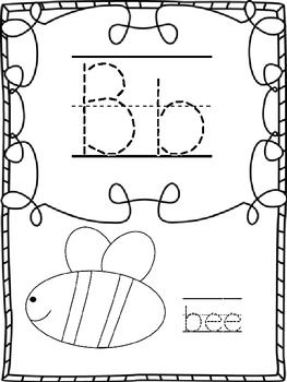 Student Designed Alphabet Poster and Line Set