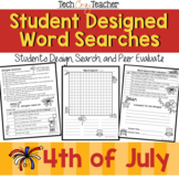 Student Designed Word Search Collaborative Project: 4th of