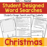 Student Designed Word Search Collaborative Project: Christmas