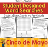 Student Designed Word Search Collaborative Project: Cinco de Mayo
