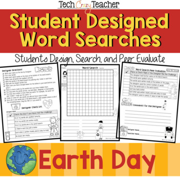 Student Designed Word Search Collaborative Project: Earth Day