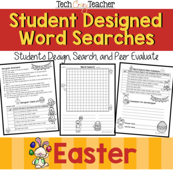 Student Designed Word Search Collaborative Project: Easter