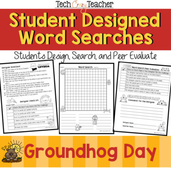 Student Designed Word Search Collaborative Project: Groundhog's Day