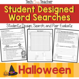 Student Designed Word Search Collaborative Project: Halloween