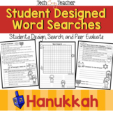 Student Designed Word Search Collaborative Project: Hanukkah