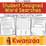 Student Designed Word Search Collaborative Project: Kwanzaa