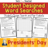 Student Designed Word Search Collaborative Project: Presid