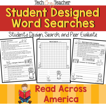 Student Designed Word Search Collaborative Project: Read Across America