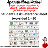 0001 Student Desk 50+ Survival Phrases for 90%TL - TCI - CI