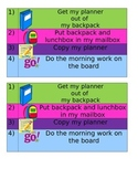 Student Desk Checklist-EDITABLE