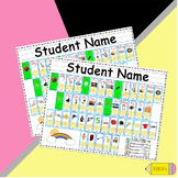 Student Desk Mats with Benchmark Sound Spelling Cards