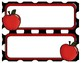 Back to School Student Nametags - Awesome Apples - Choose Your Background!