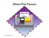Classroom Management Student Desk Organizer