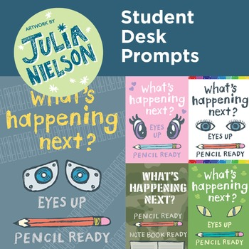 Student Desk Prompts