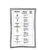 Student Desktop Checklist to Help Solve Math Problems