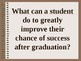 Student Development: Preparing Students for Success Outside the University