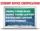 Student Device Certification