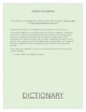 Student Dictionaries