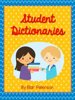 Student Dictionaries {My Word Books}
