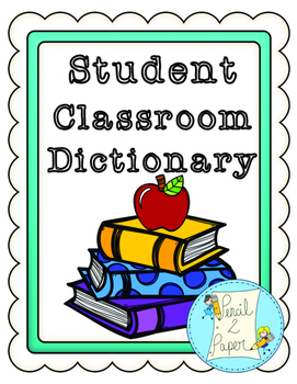 A-Z YEAR LONG Student Dictionary