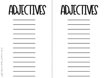 Student Dictionary AND Grammar Notebooks (Black and White)