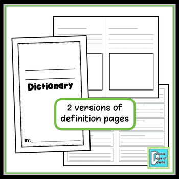 Dictionary Template
