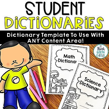 Student Dictionary Four Square (For Any Subject)
