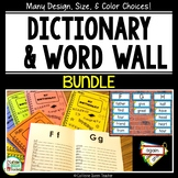 Sight Word Dictionary and Word Wall BUNDLE