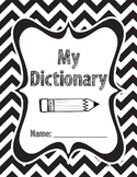 Student Dictionary for Dolch Sight Words