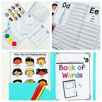 Student Dictionary with Dolch Sight Words