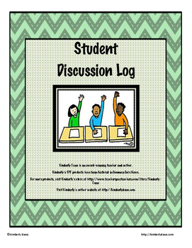 Student Participation and Discussion Log