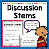 Sentence Stems for Classroom Discussion