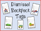 Student Dismissal Tags