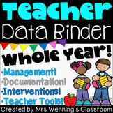 Data Binder - Student Documentation, Interventions & Behav