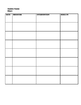 Student Documentation Organizer