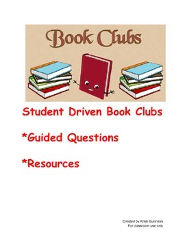 Student Driven Book Clubs  (Finding Evidence)