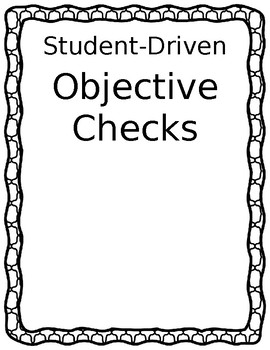 Student-Driven Objective Checks
