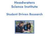 Student Driven Research Protocol