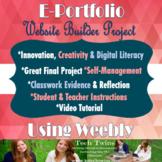 Student E-Portfolio - Website Builder Project