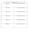 Student Editing/Grammar Practice