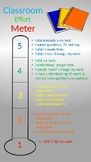 Student Effort Meter- Editable