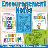 Student Encouragement Notes | Kindness, Friendship, Perseverance - US Letter