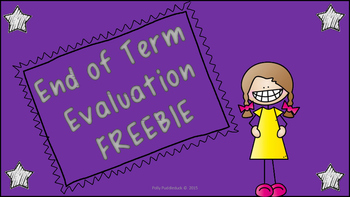 Student End of Term Evaluation