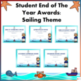 Student End of Year Awards: Sailing theme